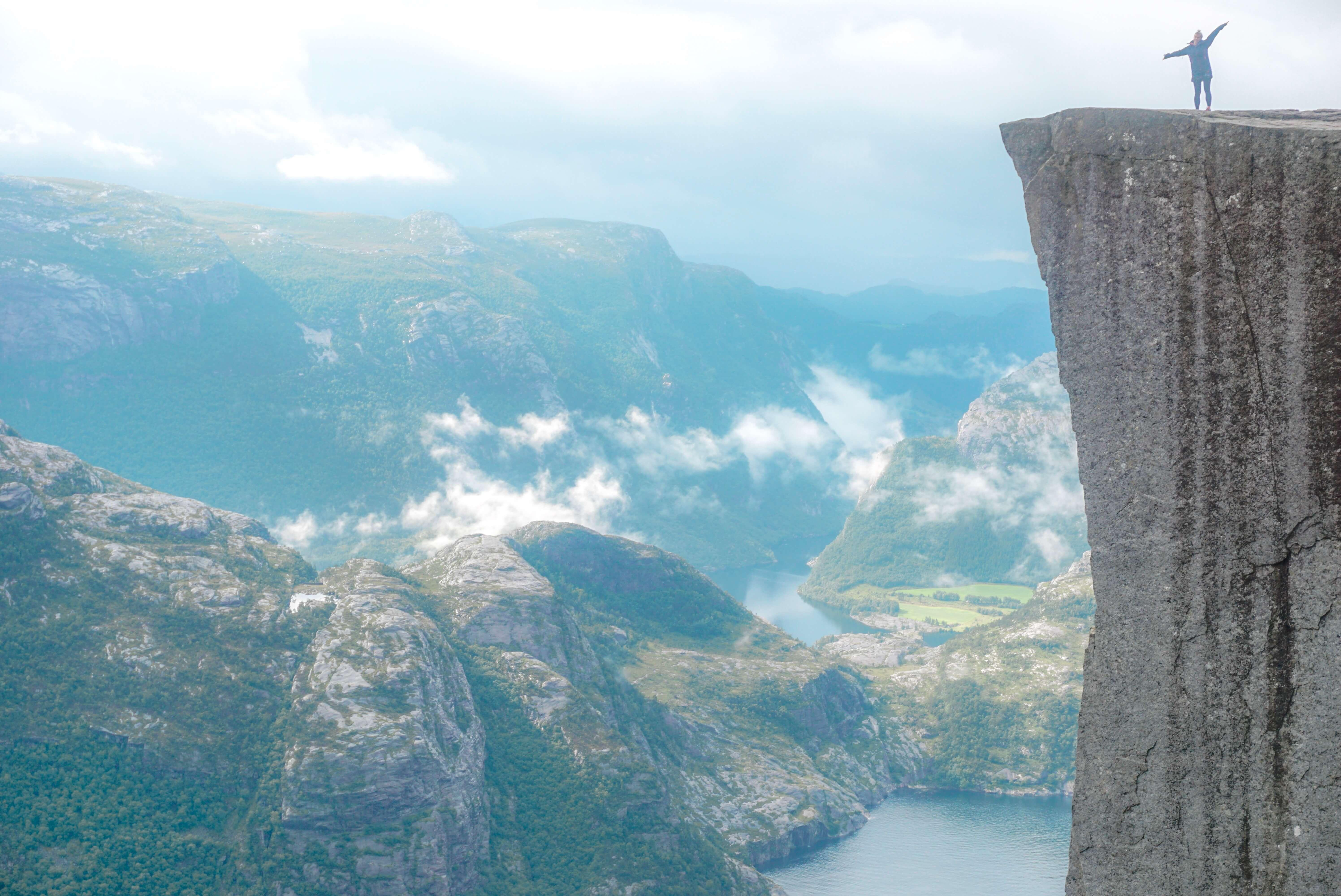 comment faire randonnée preikestolen norvège