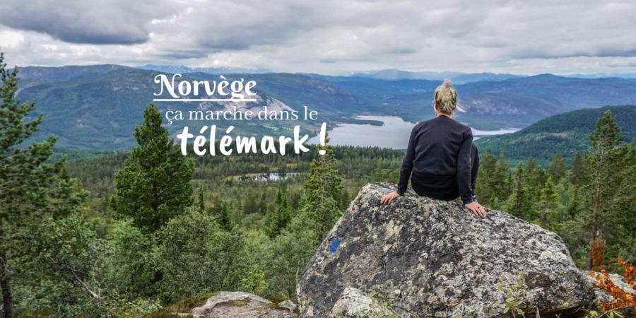 randonnée dans le télémark norvège