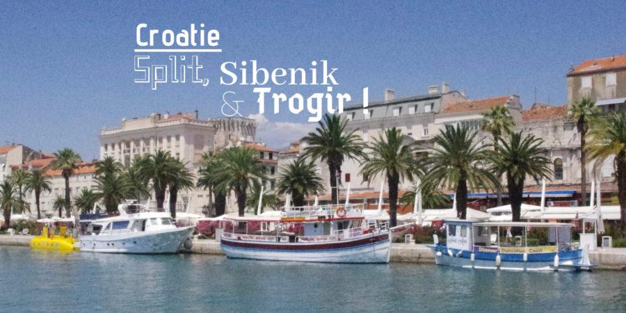 Visiter split trogir croatie voyage