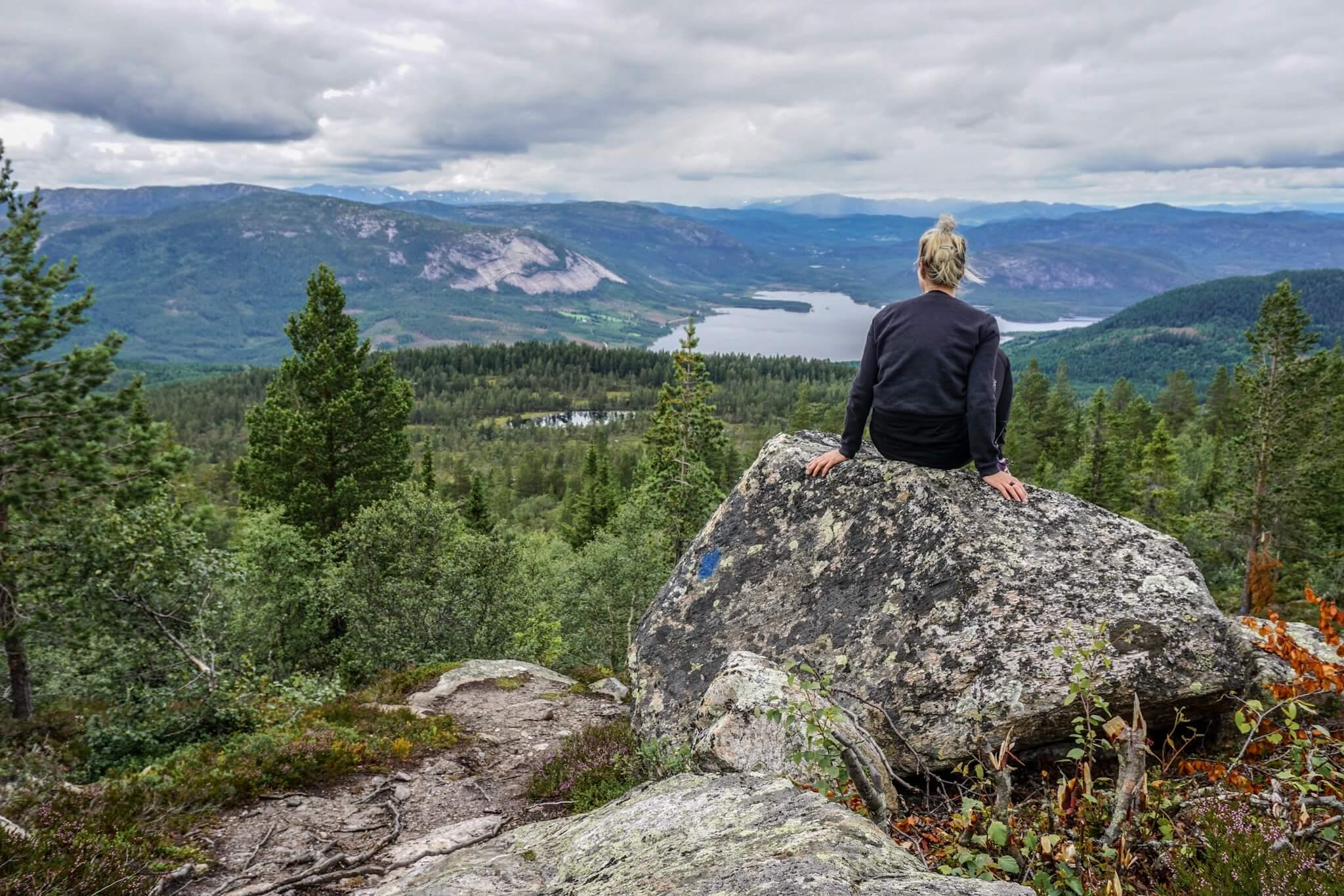 partir télémark randonnée norvège