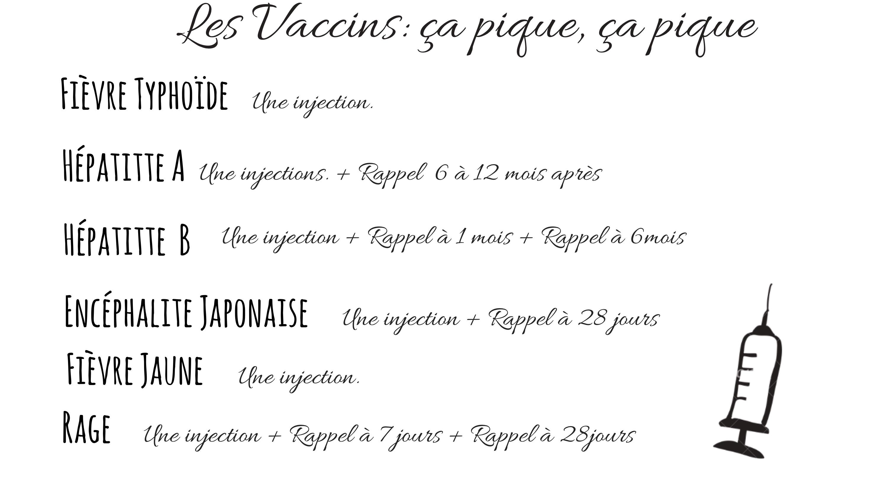 quels vaccins pour voyager
