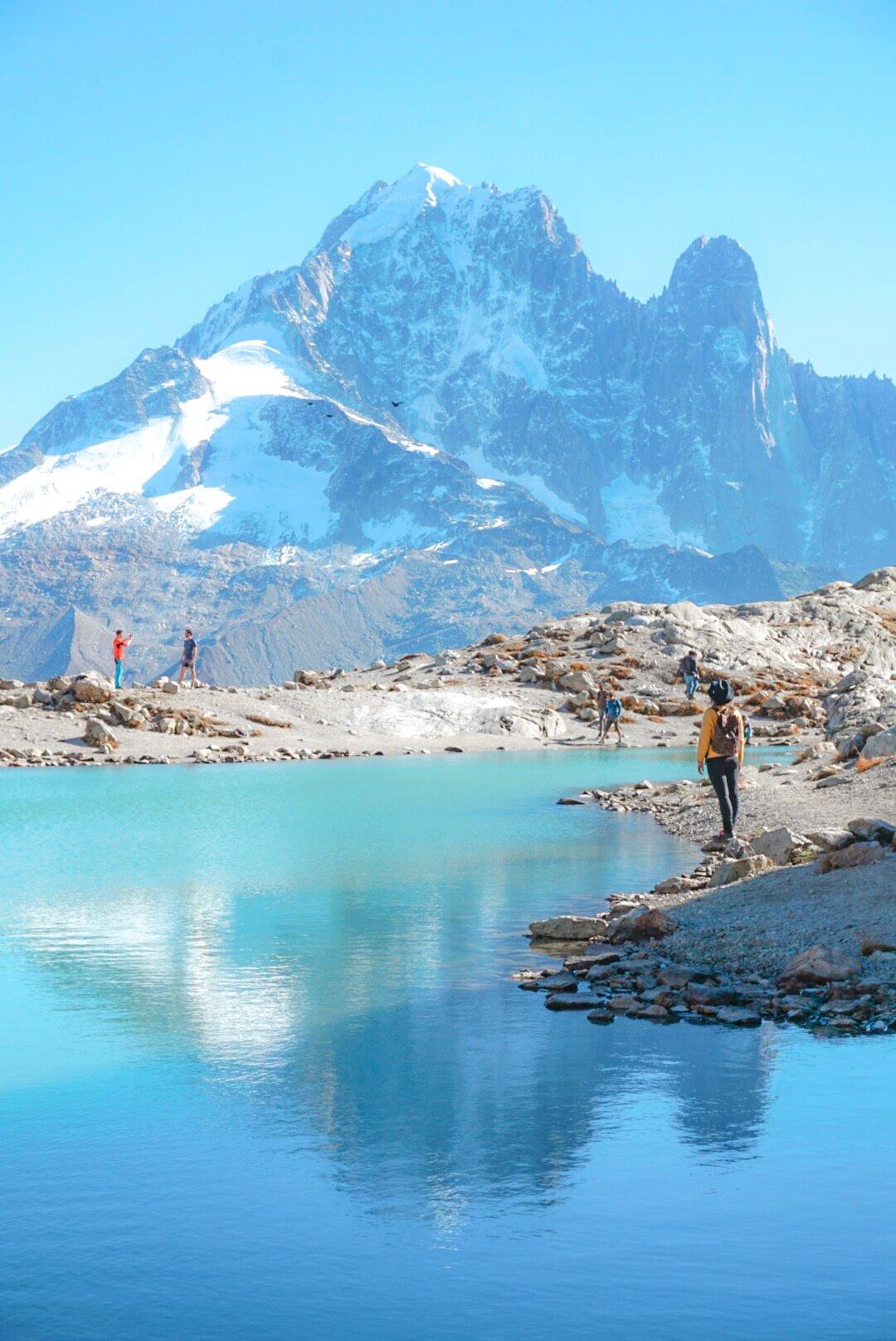 lac blanc chamonix randonnée