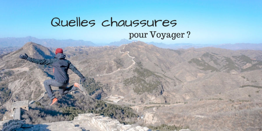 chaussures trail pour voyager avis