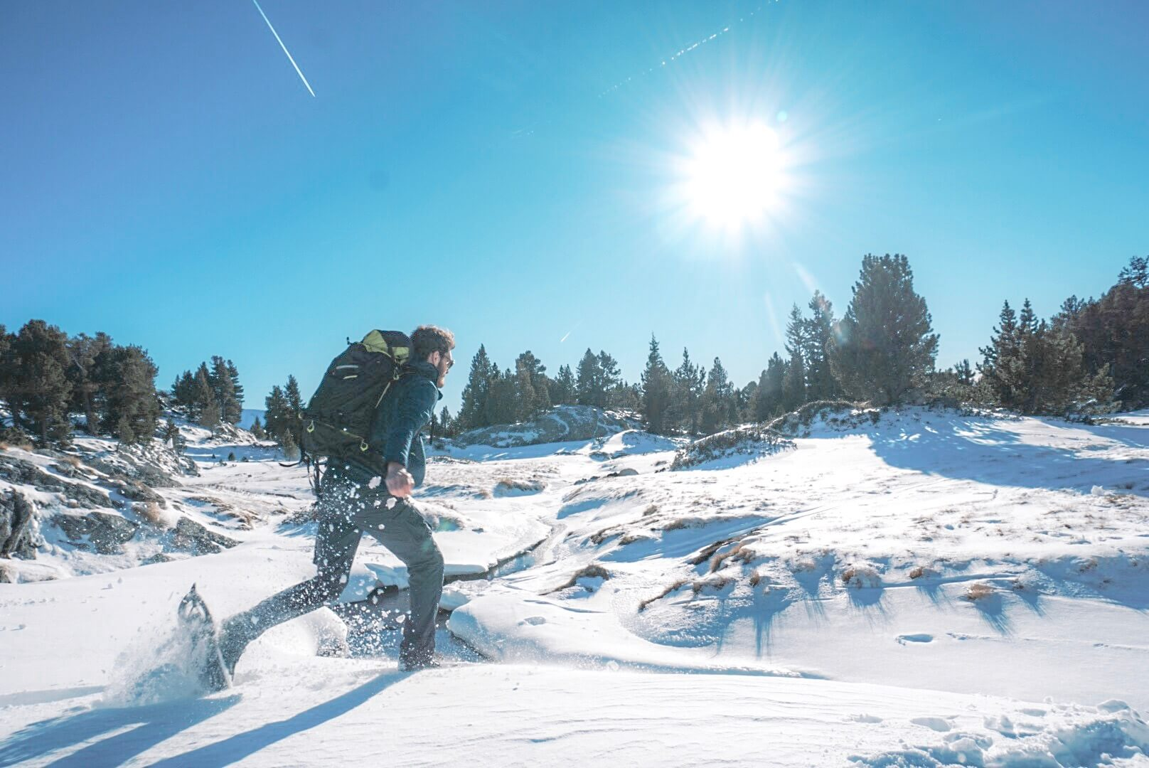 idée de randonnée raquettes hiver alpes Isère