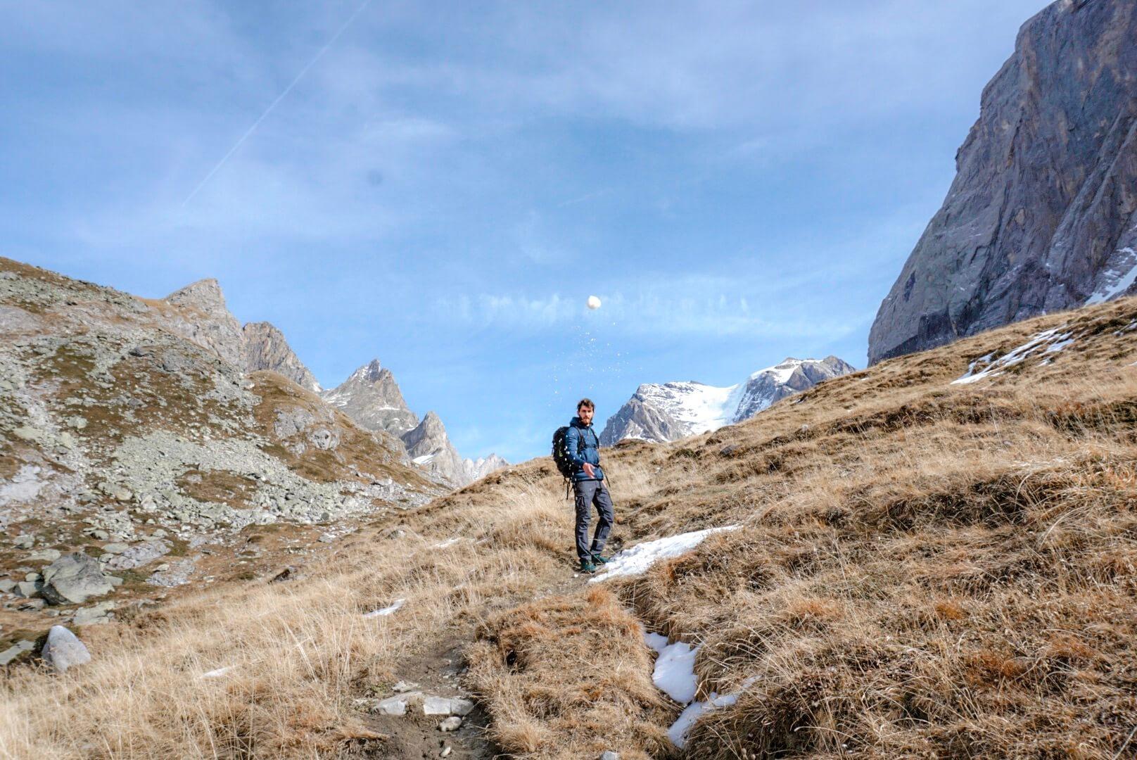 ou faire une randonnée en vanoise Pralognan Savoie