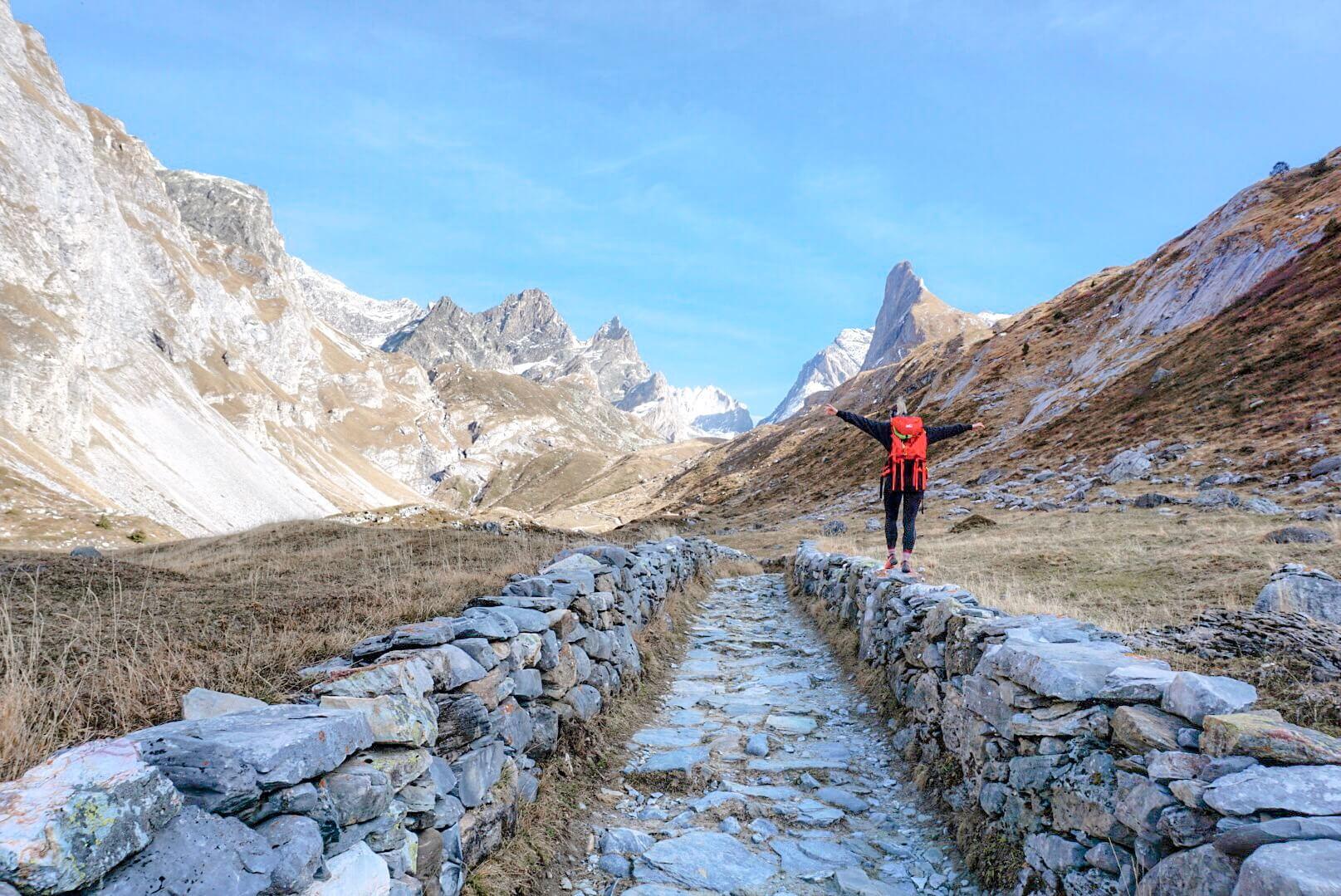 idée itinéraire randonnée Pralognan la vanoise
