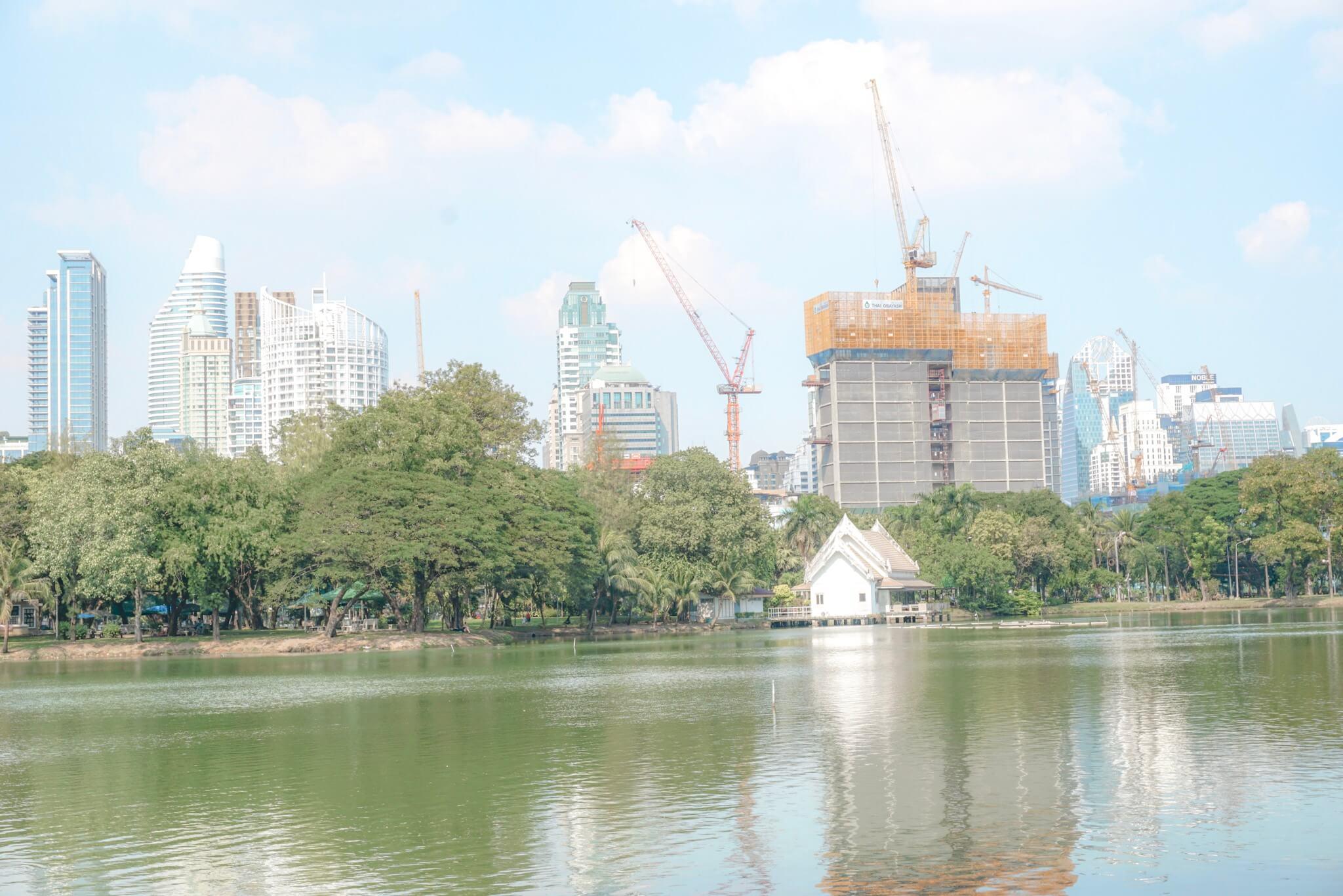 comment aller au parc Lumphini Bangkok
