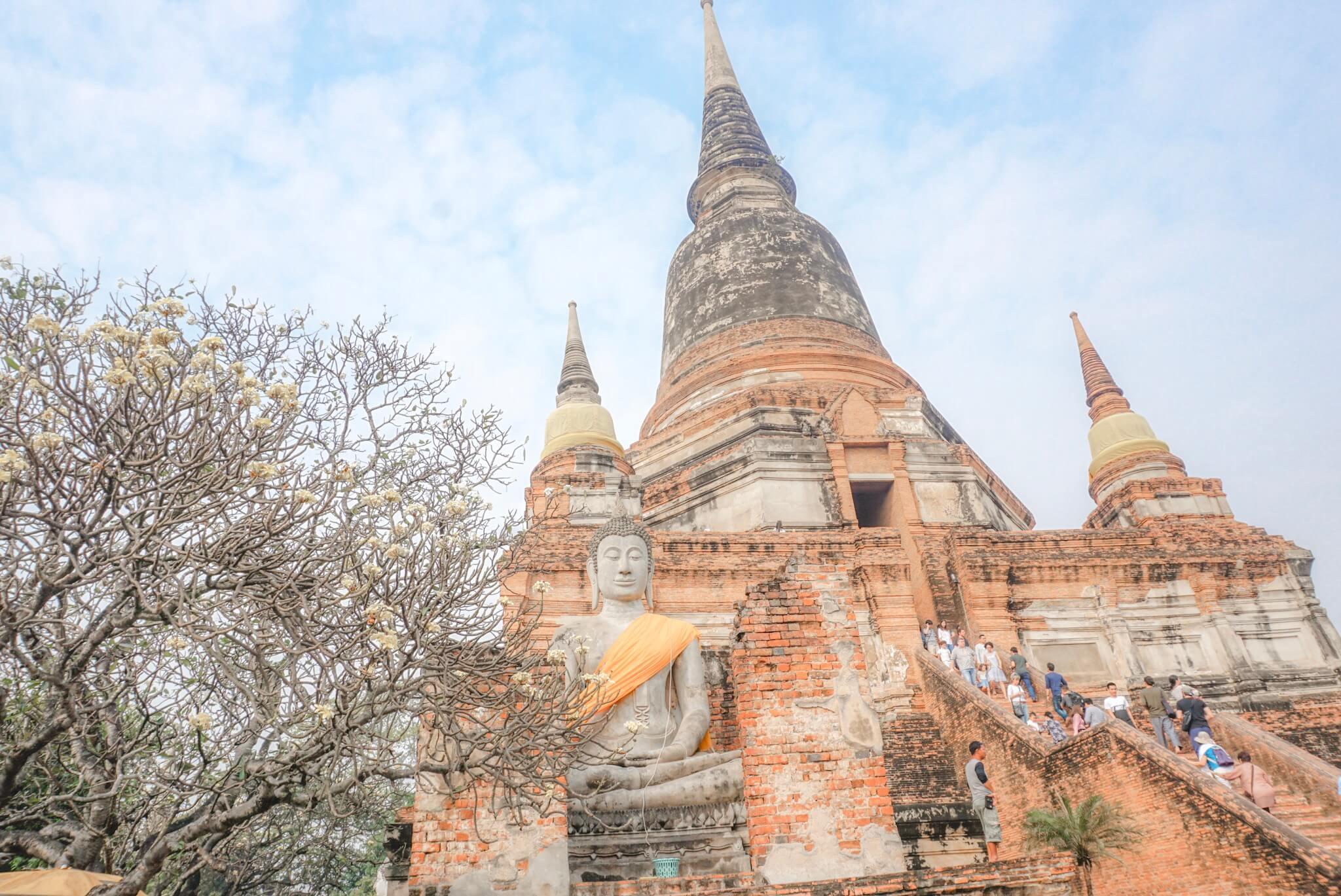 visiter ayutthaya thailande voyage