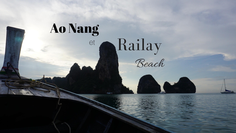 visiter ao nang railay beach