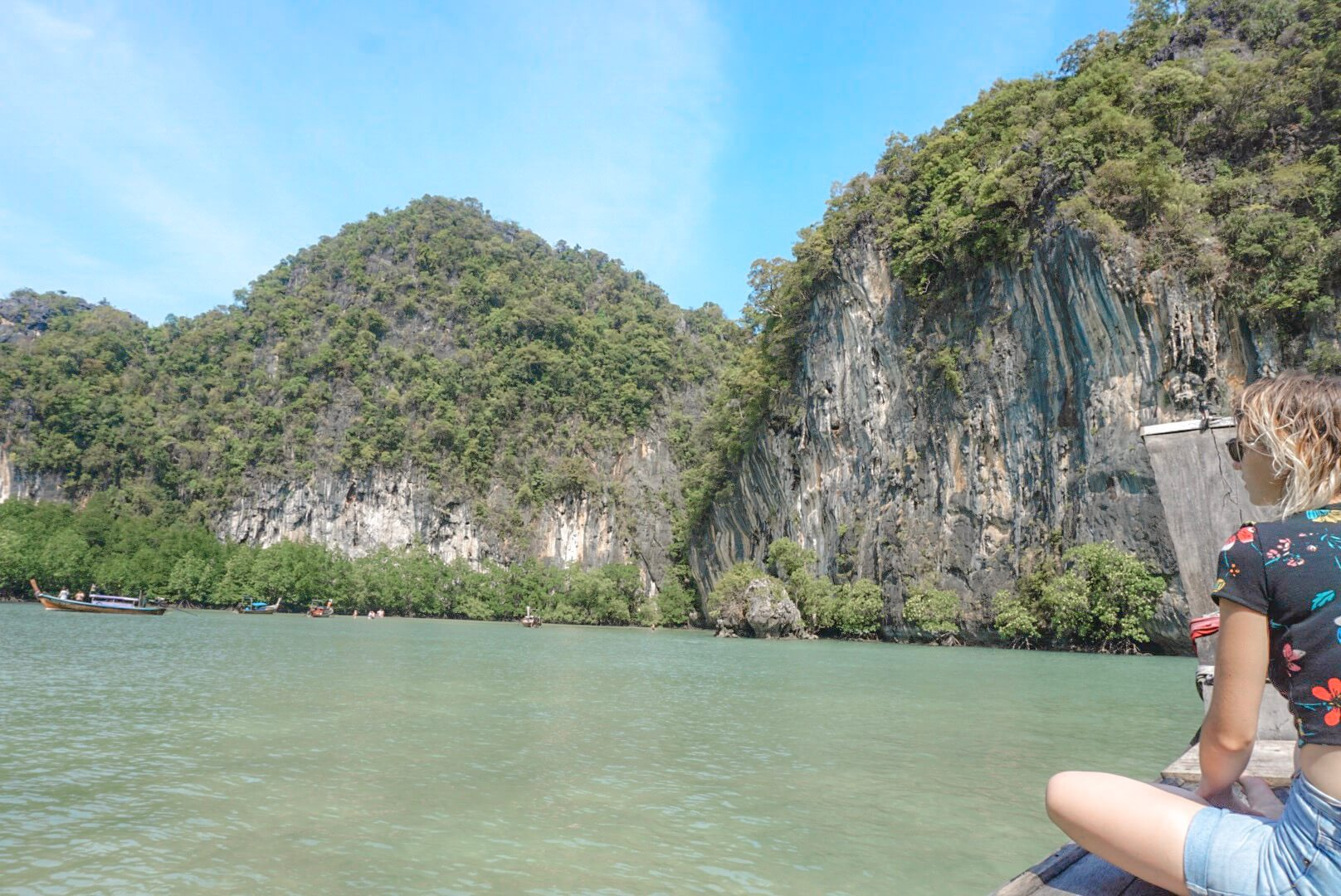 Excursion bateau Koh Yao Noi