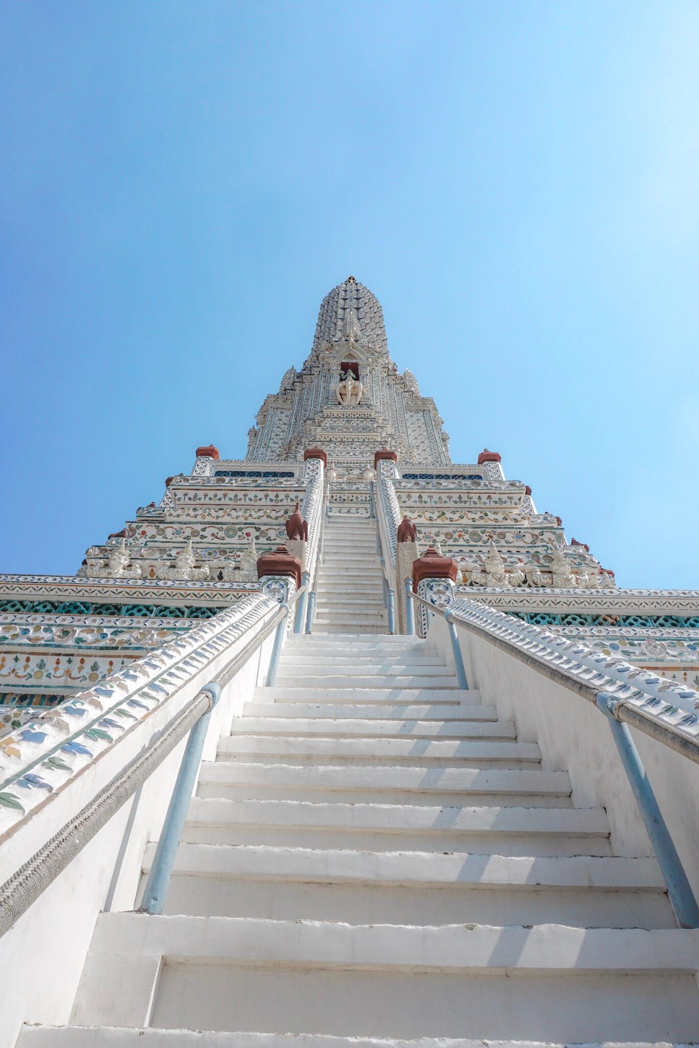 Le temple à visiter à bangkok wat arun