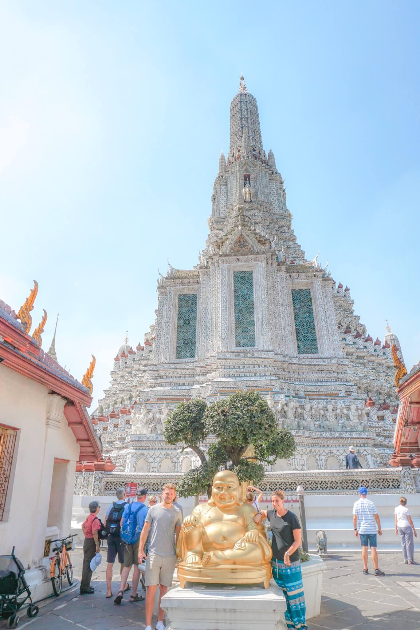 voyage temple wat arun bangkok