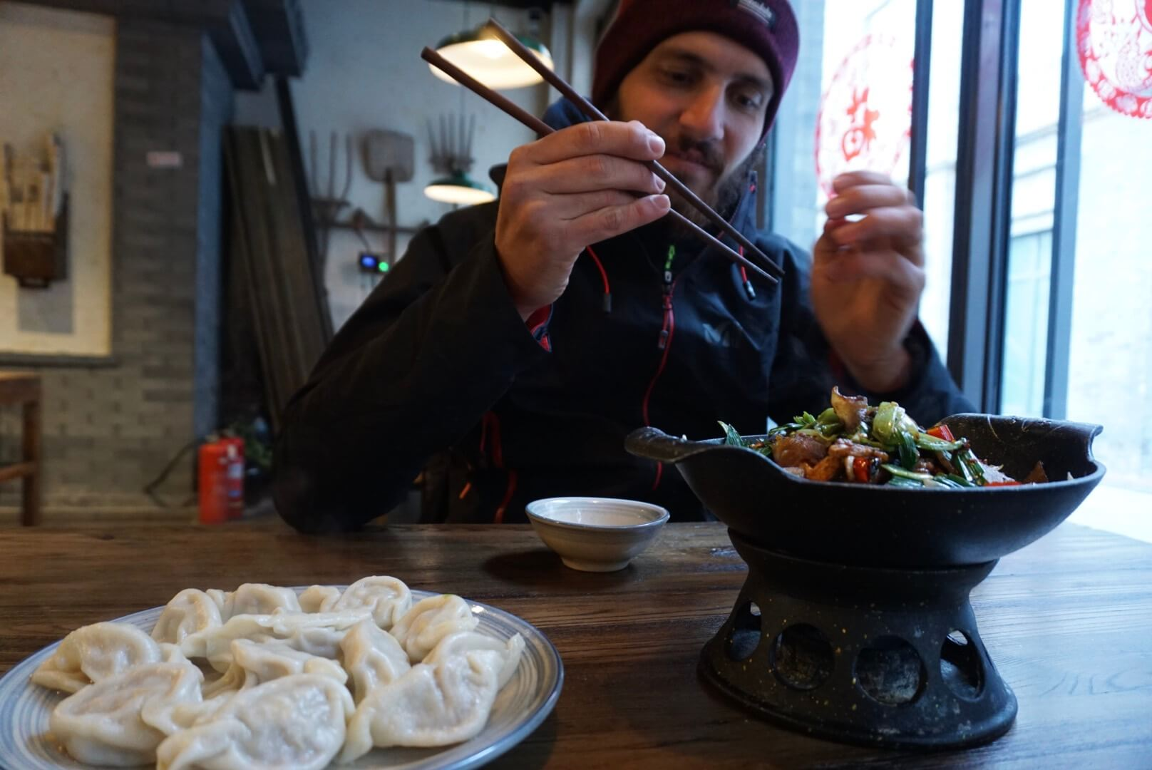 Ou manger à pékin qianmen street food