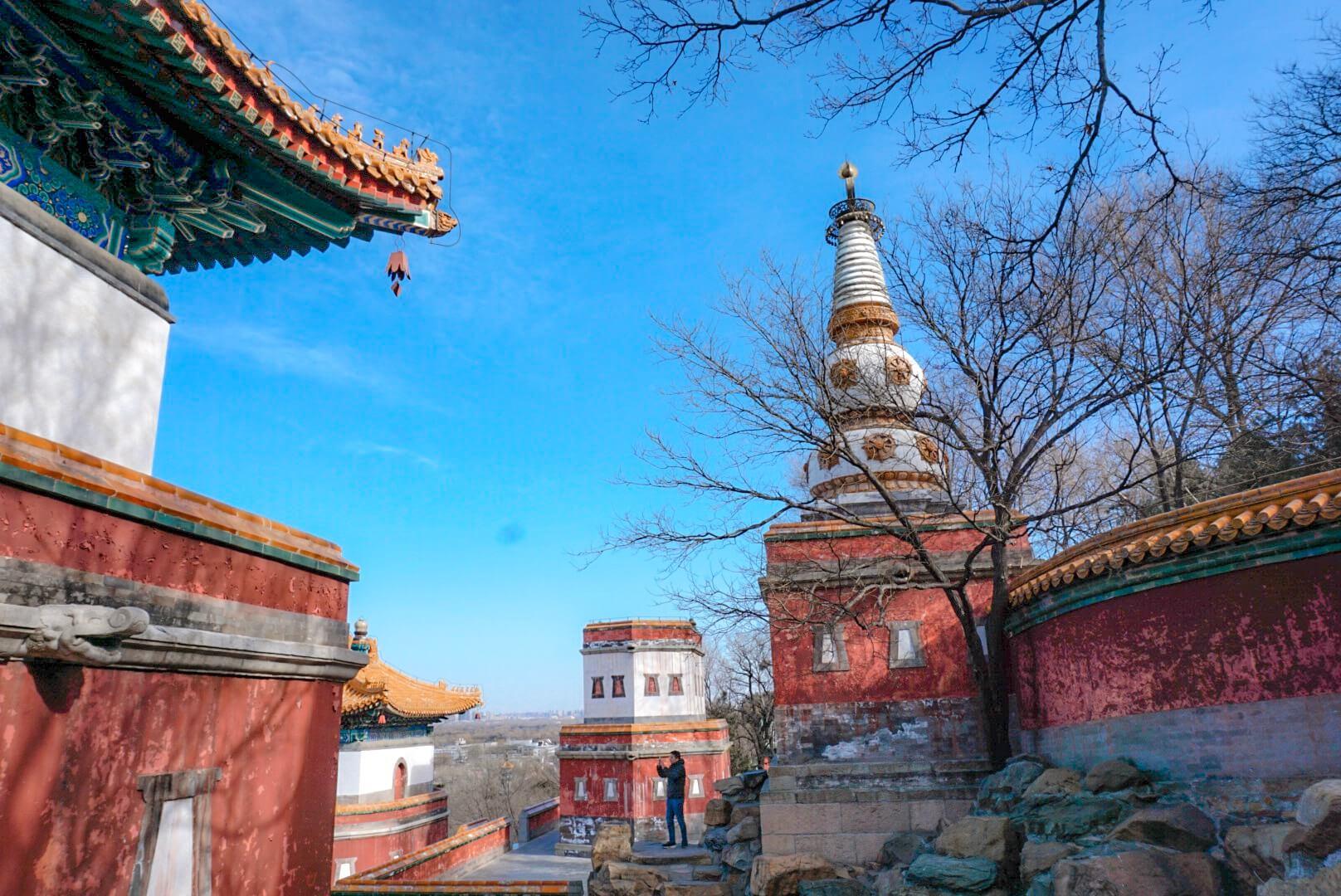visiter le palais d'été à pékin chine