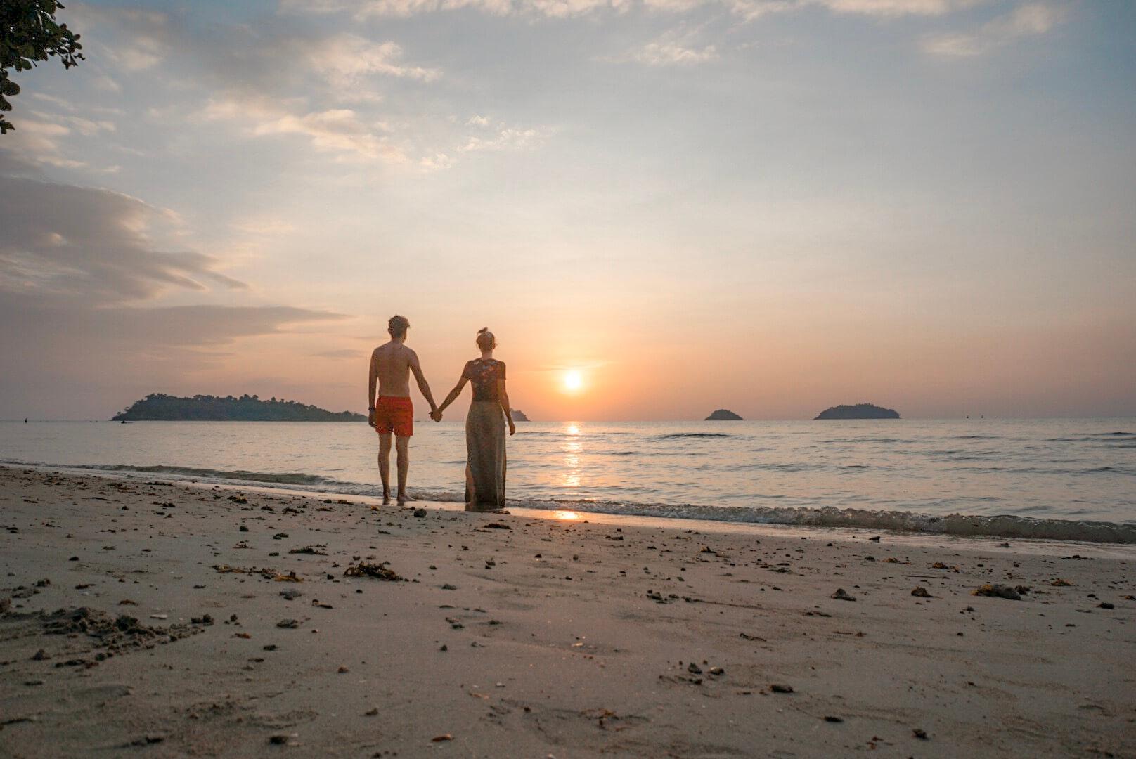 coucher de soleil Koh Chang Thailande