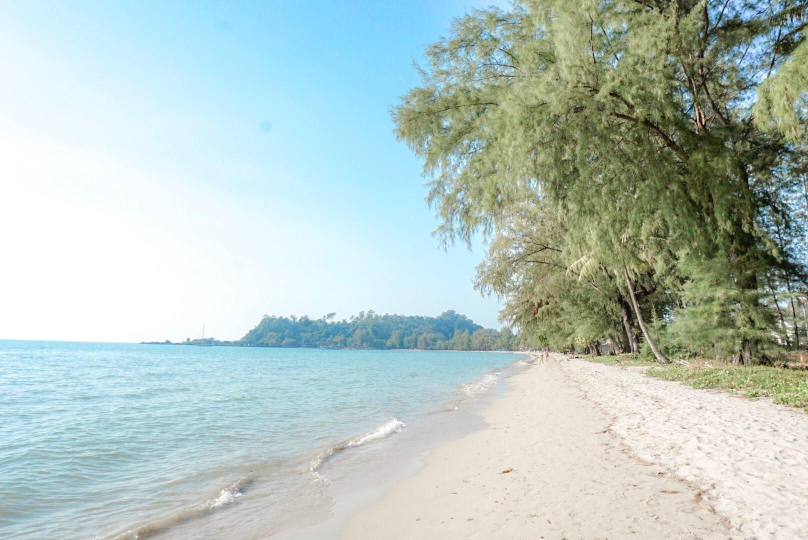 Koh chang Lonely beach ou loger