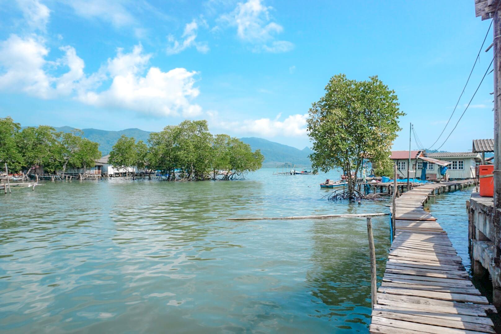 Koh Chang village pêcheurs