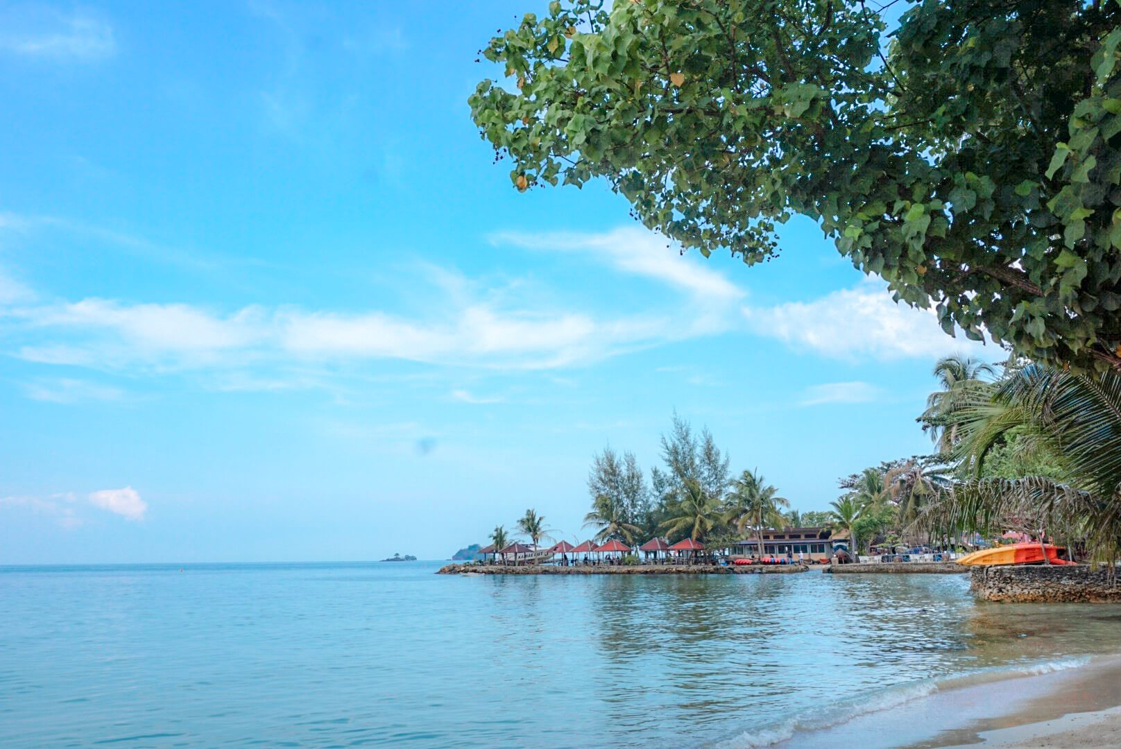 Que faire ko chang thailande plage