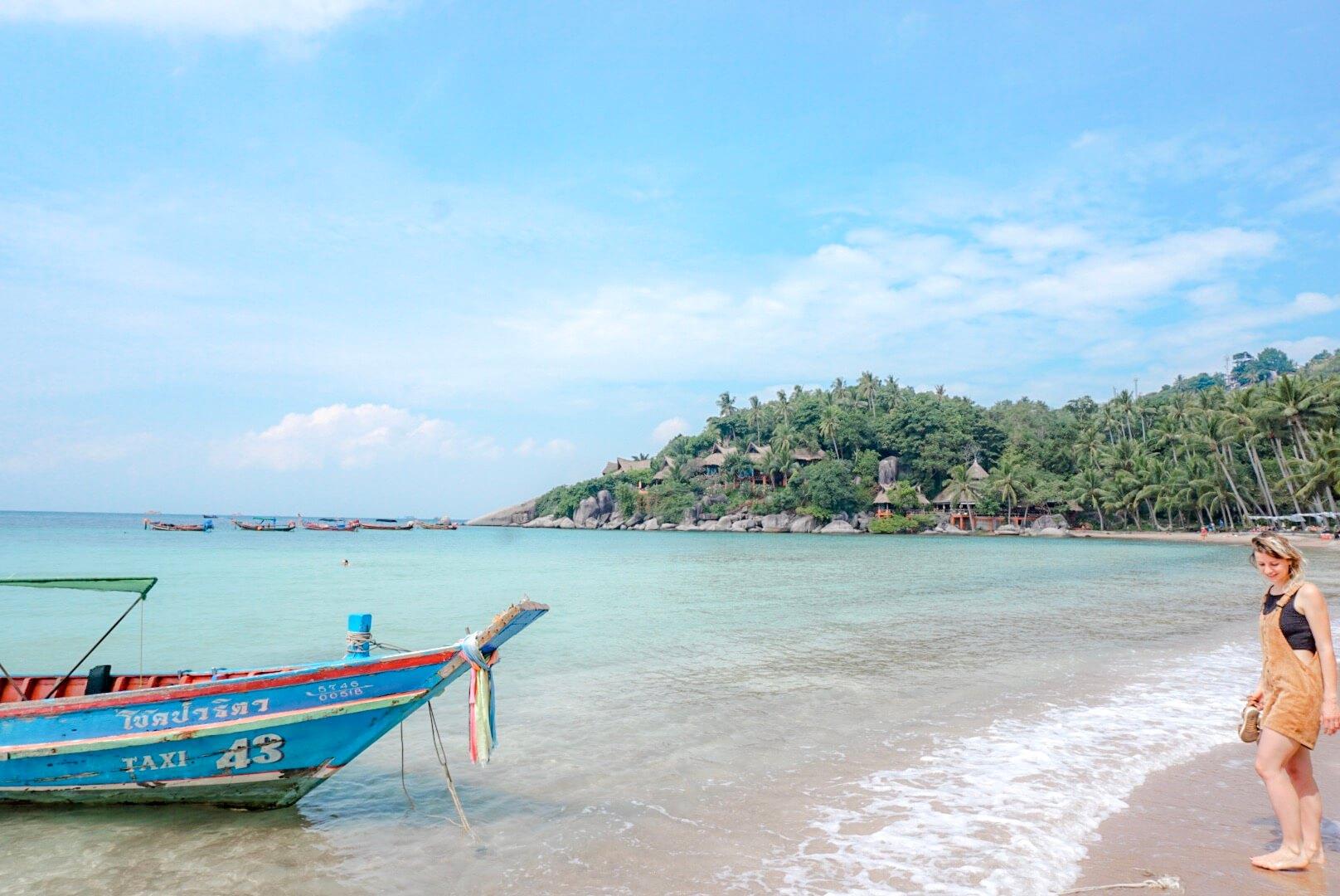 belle plage koh tao sairee beach thailande