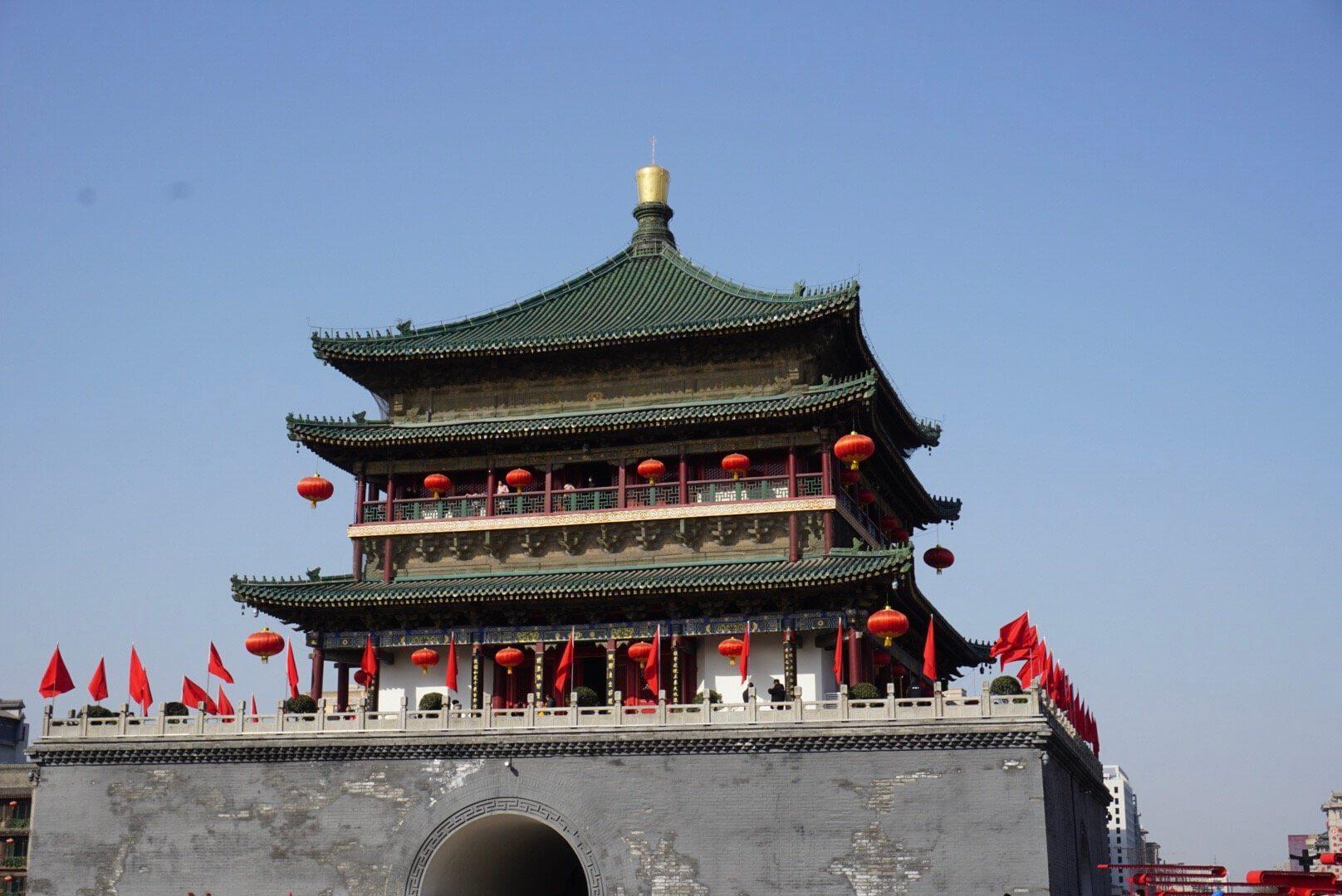 Bell Tower Xi an visiter en 2 jours