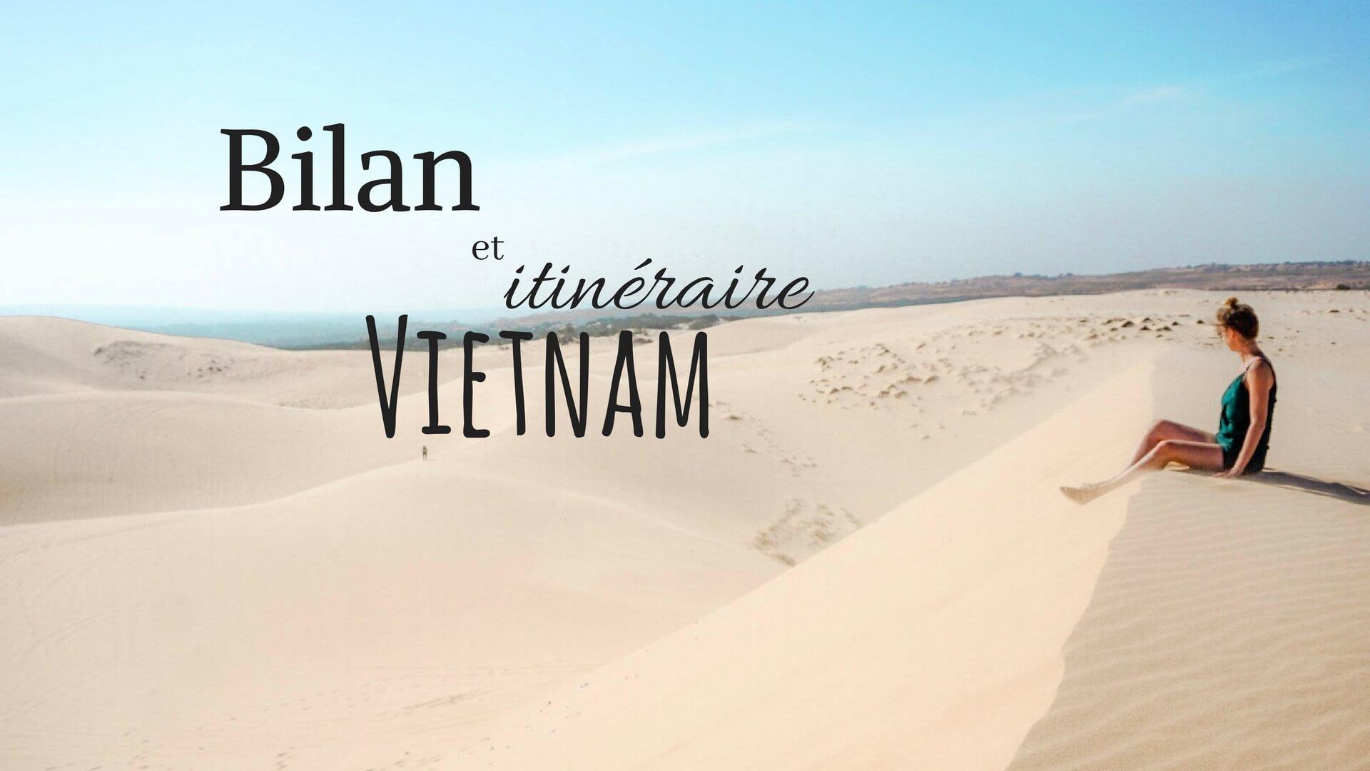 Budget et bilan voyage vietnam blog