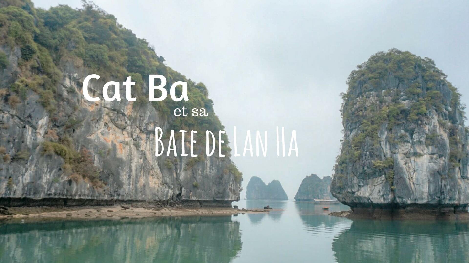 Lan Ha Baie Cat Ba Vietnam