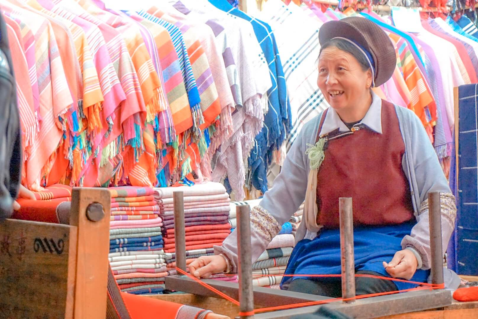 quelles activités à Lijiang artisan tissus
