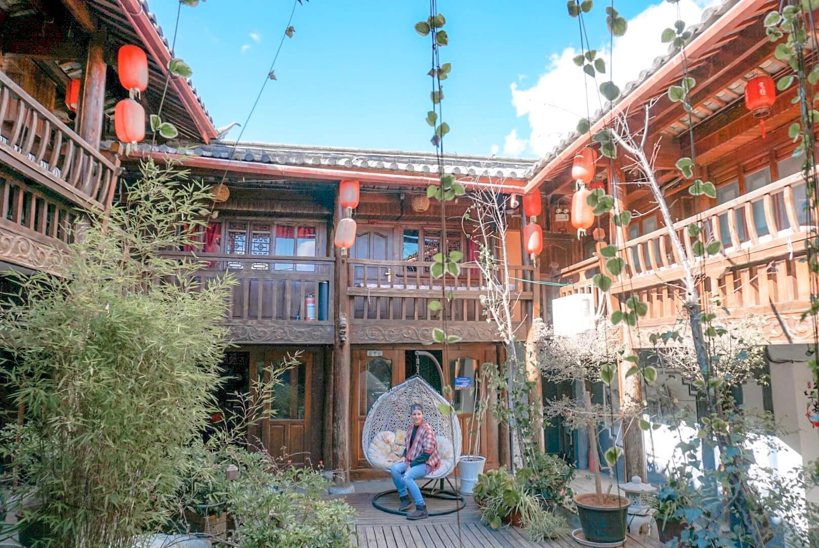 Ou dormir à Lijiang blog voyage maison Naxis centre vielille ville
