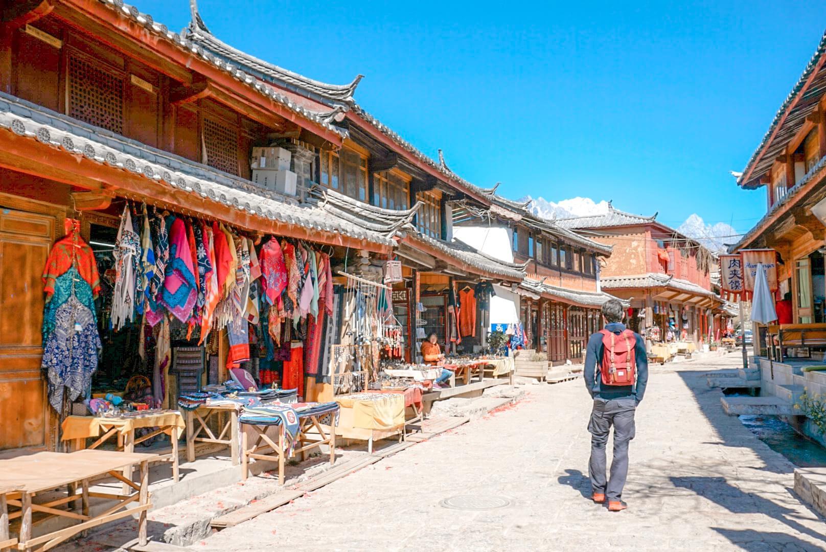visiter le village de Shuhe depuis Lijiang chine