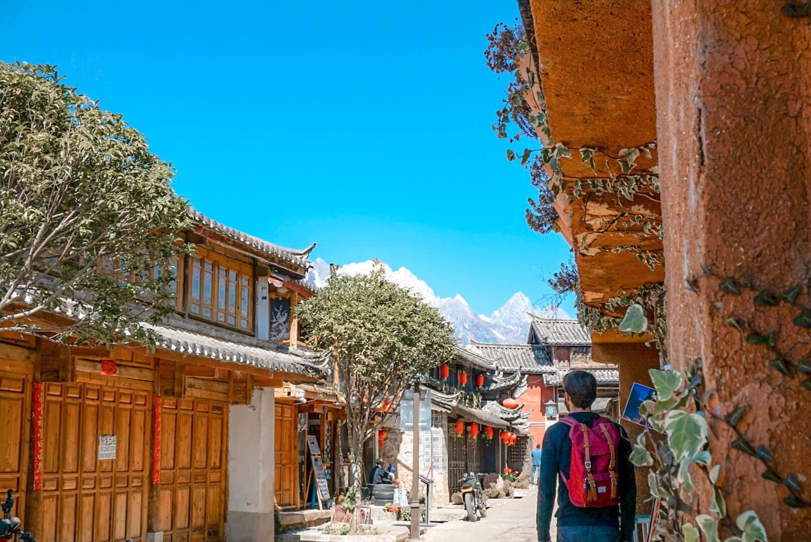comment visiter baisha depuis Lijiang