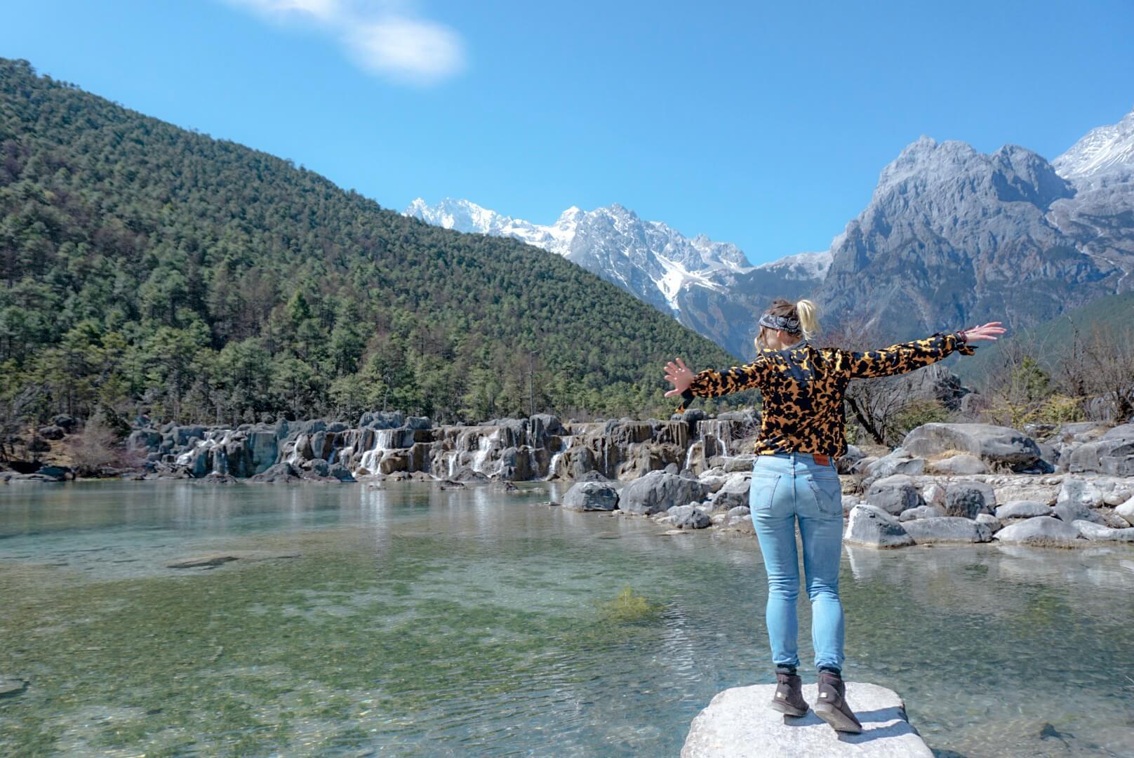 avis visite parc blue moon valley chine Yunnan Lijiang