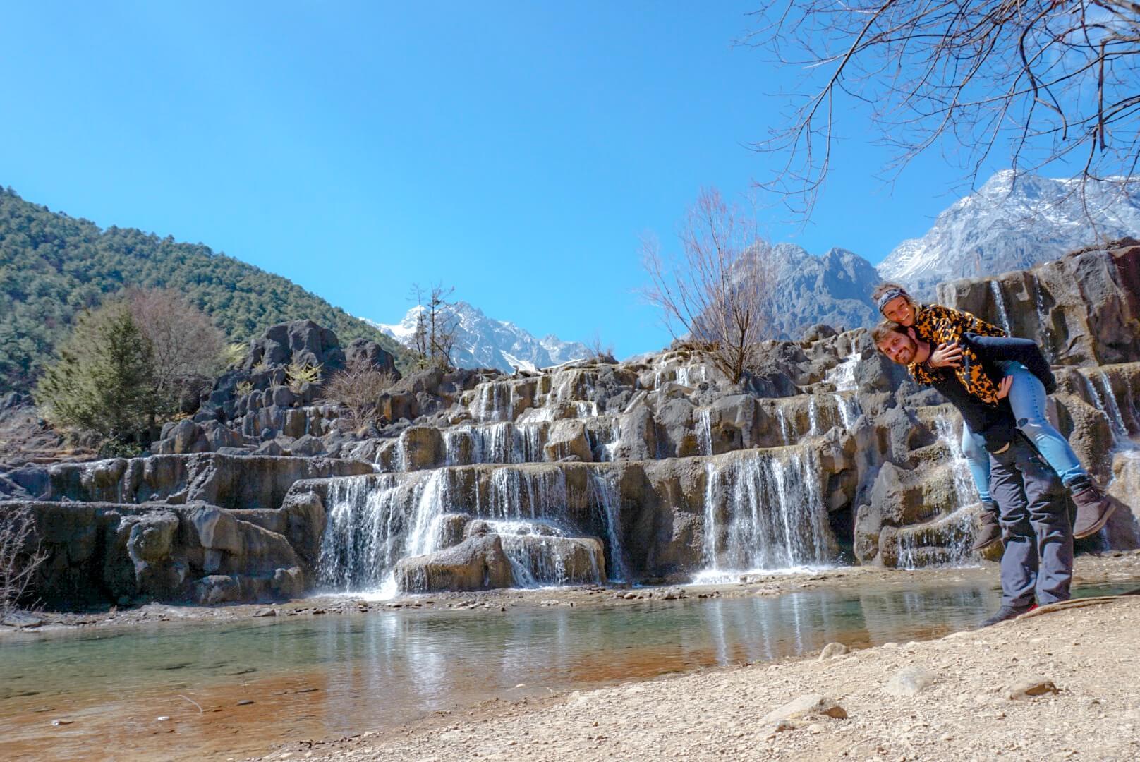 Blue moon valley Lijiang Yunnan chine montagne du dragon de jade