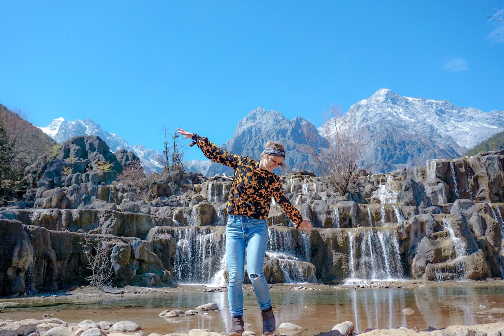 Blue moon valley Yunnan chine blog de voyage