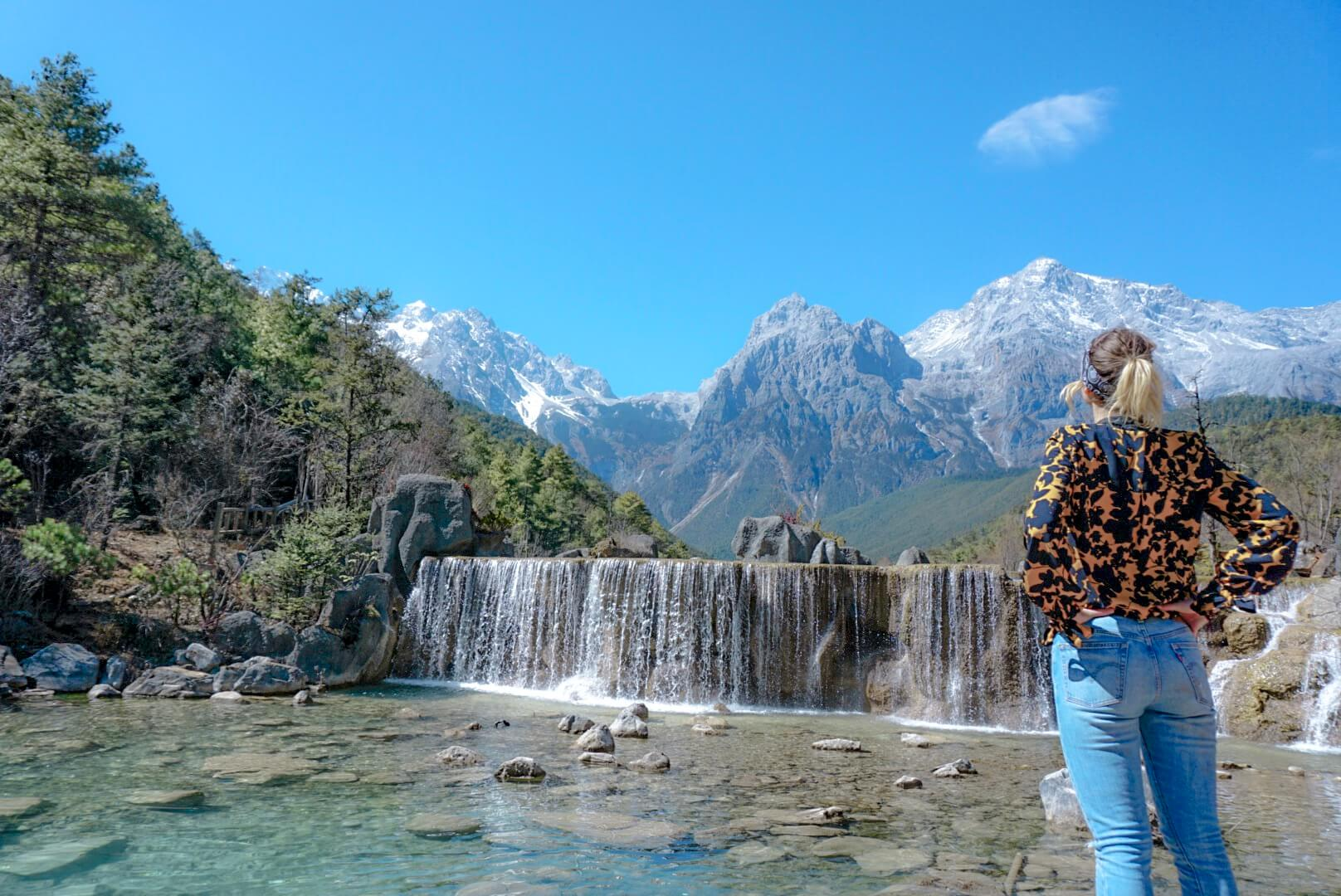 comment aller à blue moon valley Lijiang chine blog voyage