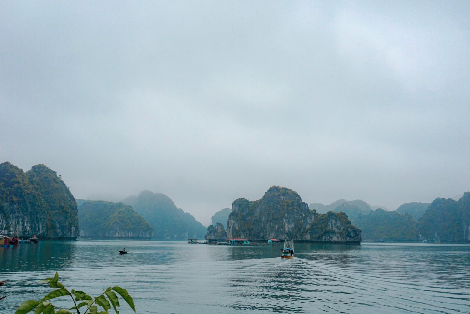 la baie de Lan Ha Vietnam