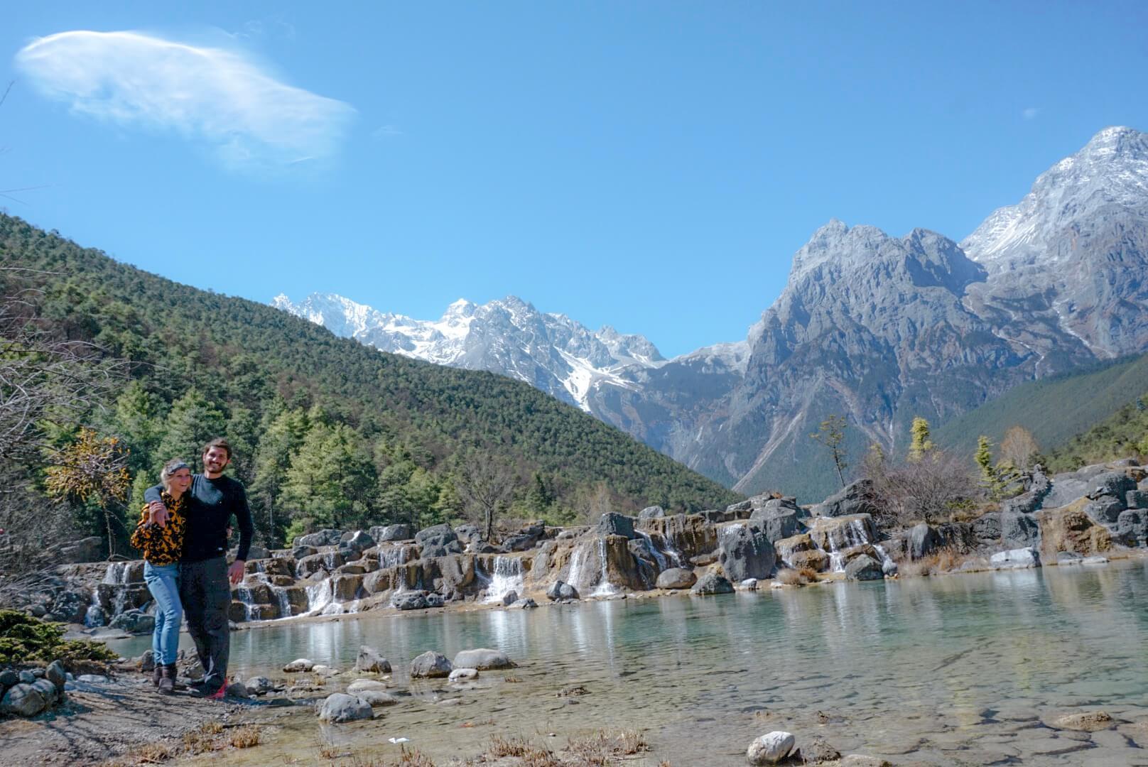 la blue moon valley parc national un incontournable du Yunnan chine Lijiang