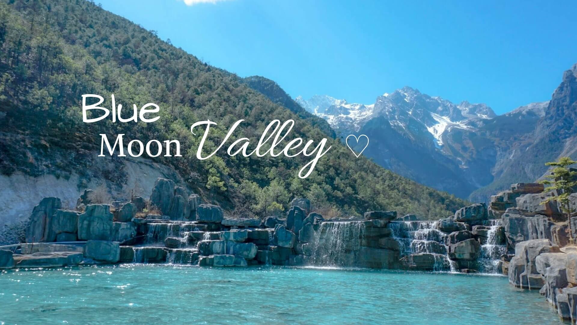 Comment aller visiter parc blue moon valley chine Yunnan