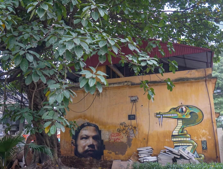 Hanoi Street Art Vietnam