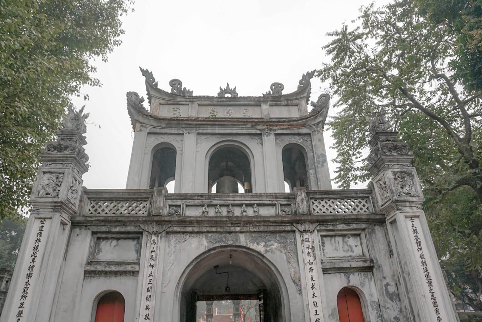 Temple de la littérature Hanoi incontournable