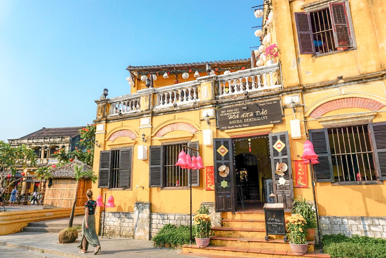 Visiter Hoi An et sa vieille ville jaune vietnam