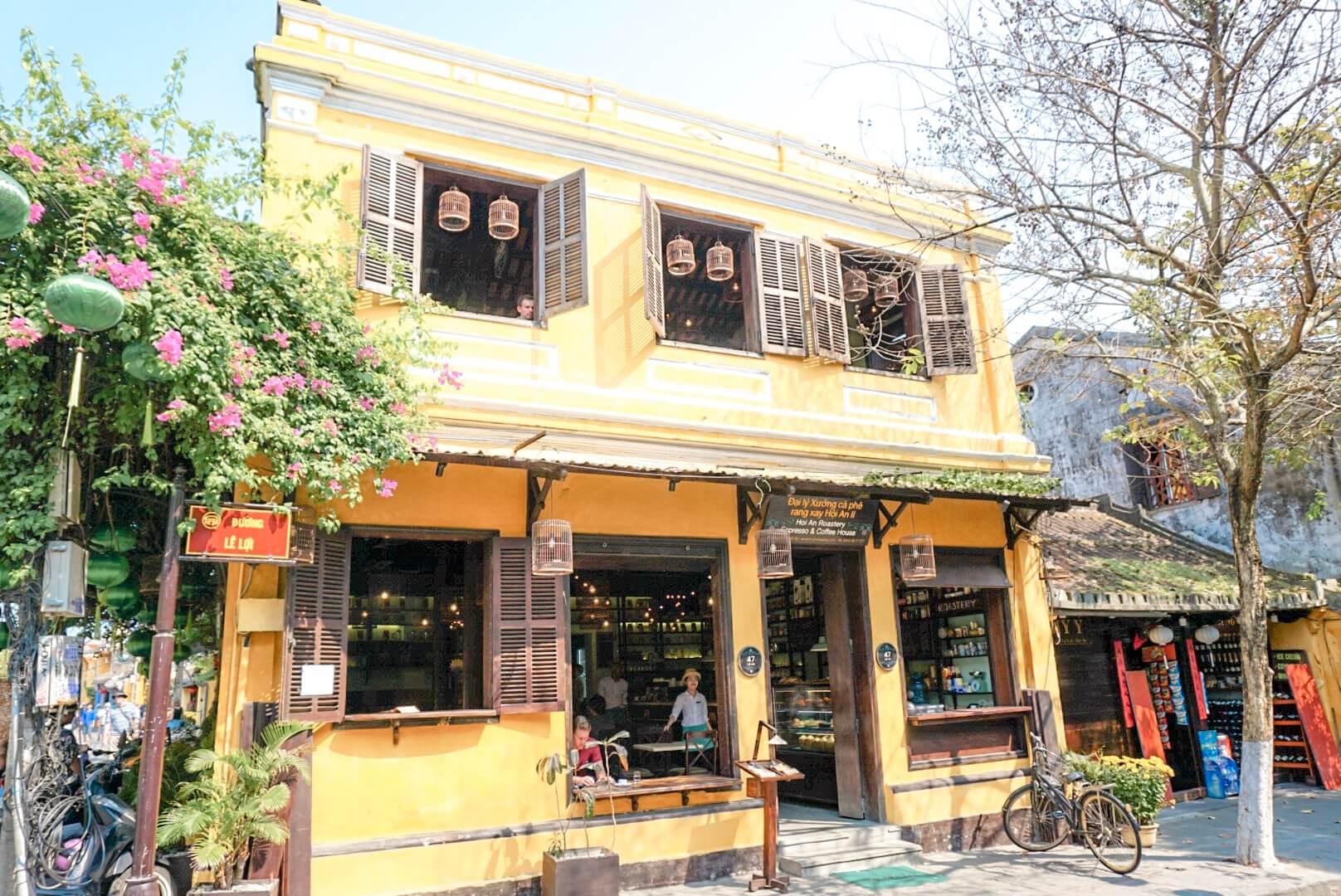 Ruelles colorées Hoi An Vietnam