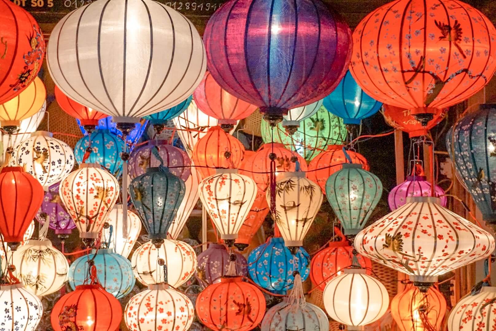 Hoi An et ses lanternes Vietnam