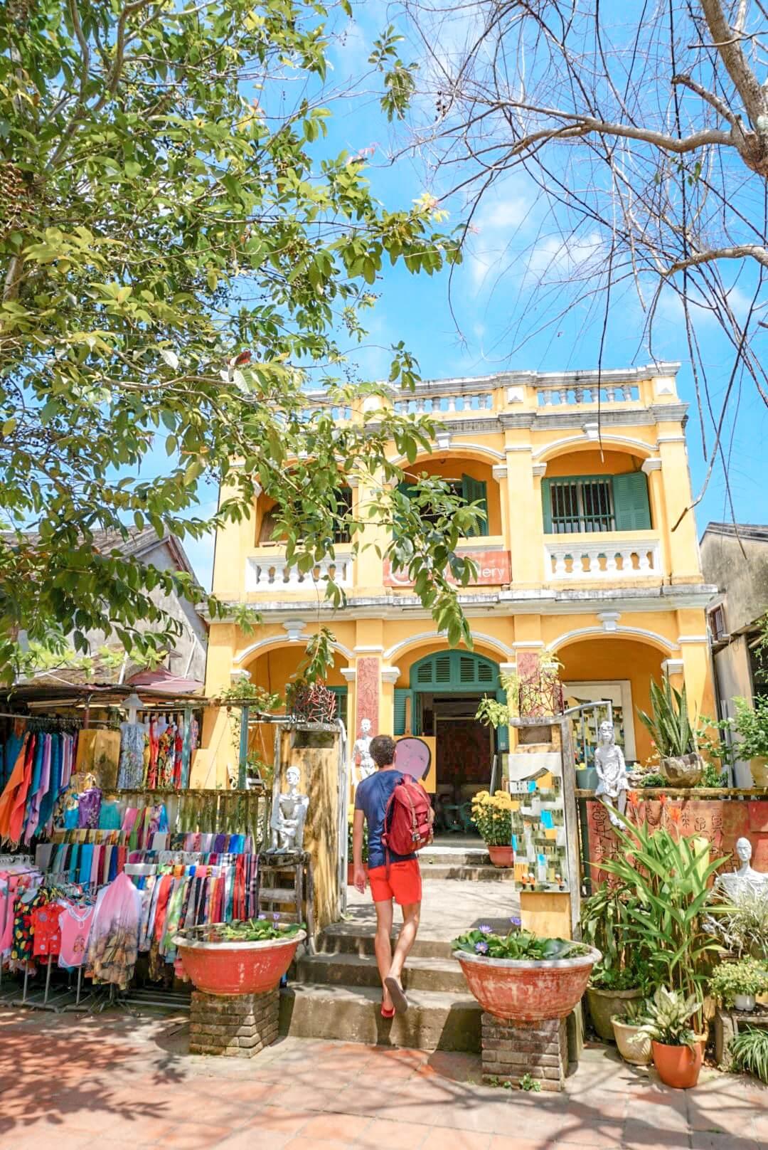 Hoi An et ses maisons jaunes Vietnam voyage
