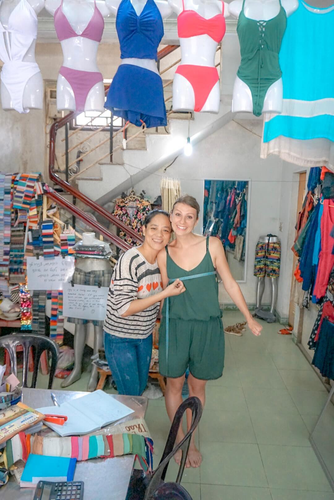 Vêtements sur mesure Hoi An Vietnam