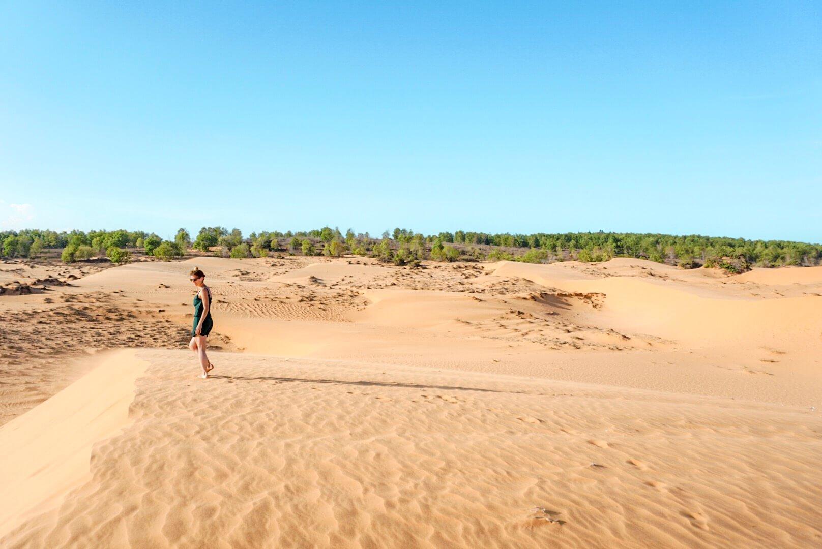 Jeep pour visiter les dunes de Mui Né Vietnam
