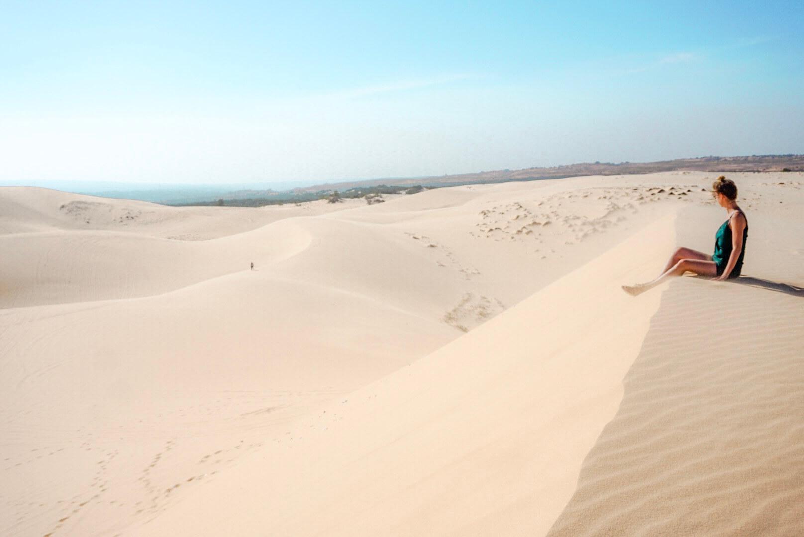dunes white sands mui né vietnam