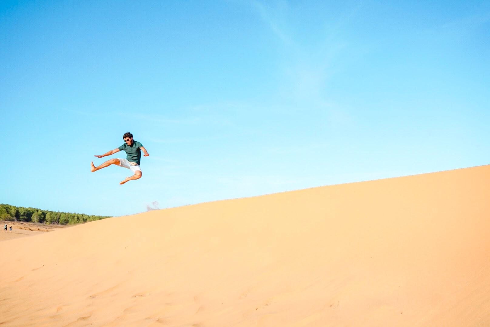 Aller sur les dunes rouges de Mui Né Vietnam