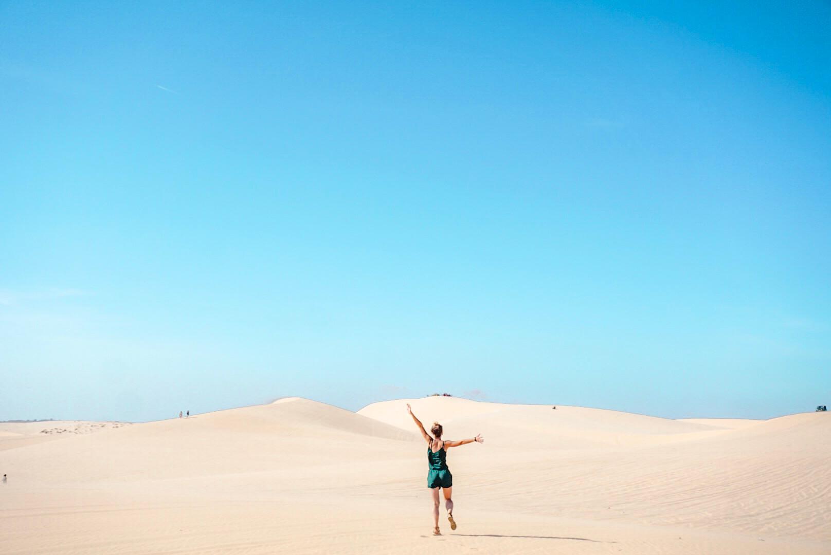 Les dunes blanche de Mui Né Vietnam