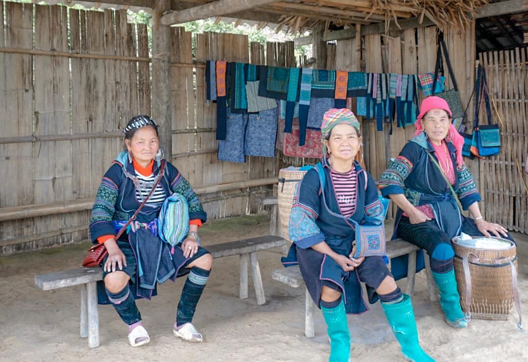 femme hmong vietnam riziere sapa
