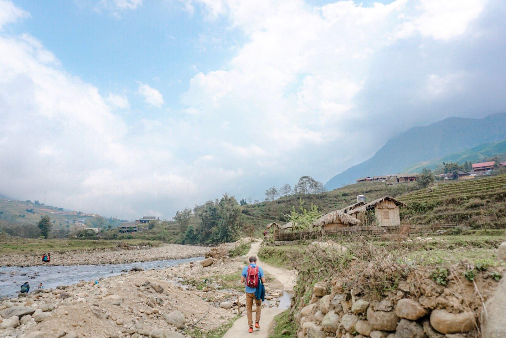 randonnée nord vietnam riziere sapa tavan
